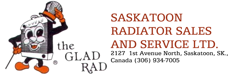 SASKATOON RADIATOR SALES AND SERVICE LTD.